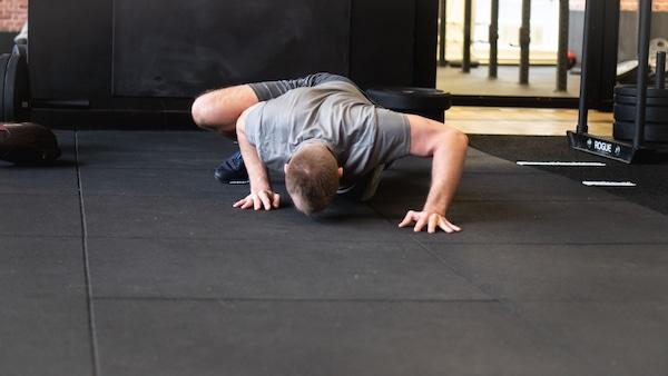 personal fitness liegestütz